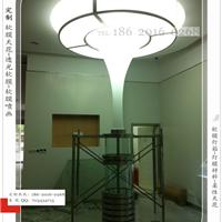 环保天花建材-吊顶灯膜 白色透光软膜