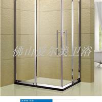供应佛山不锈钢淋浴房 不锈钢方形淋浴房
