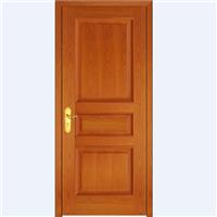 木门厂家直销实木复合门欧式三格1