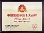 中国集成吊顶十大品牌