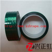供应0.055mmPET绿色高温胶带 耐高温薄膜