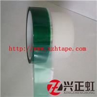 供应0.08mmPET绿色高温胶带 耐高温薄膜
