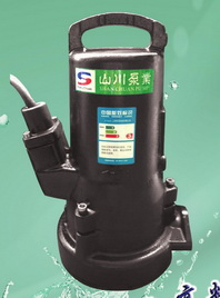供应SWF高效节能无堵塞粉碎泵,切碎式排污泵
