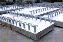 专业生产港口码头设施用铝阳极