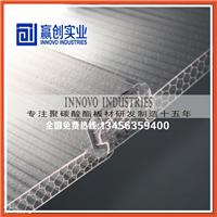 供应浙江品牌U型锁扣阳光板/蜂窝结构阳光板