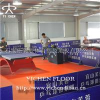 乒乓球PVC卷材塑胶地板