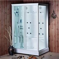 招商蒙娜丽莎干湿蒸桑拿蒸汽房整体淋浴房亚克力电脑蒸汽房批发