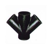 供应W型四通 铸铁管件