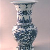 供应青花瓷礼品 青花瓷花瓶 定做商务礼品瓷
