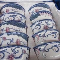 供应婚庆礼品陶瓷餐具,景德镇高温瓷碗