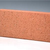 广场砖透水砖真空砖带孔砖毛面砖陶土砖