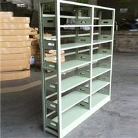 南宁书架|图书馆书架|钢制组合双面书架