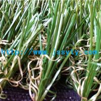 四色菱形足球场人造草坪