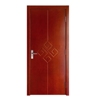 供应联曼lx-001现代风实木烤漆复合门