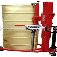 印刷电动360度旋转电子油桶称