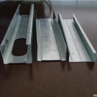 供应北京雪花轻钢龙骨厂家销售轻钢龙骨价格