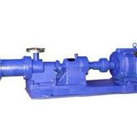 供应单级螺杆泵新型PFA氟橡胶耐磨泵