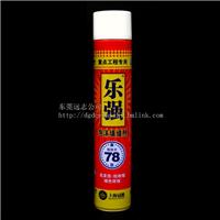 供应乐强管式750ML聚氨酯泡沫填缝剂/发泡胶