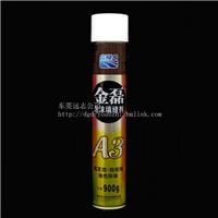 供应金磊管式750ML聚氨酯泡沫填缝剂/发泡胶