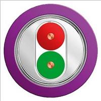 西门子紫色双芯屏蔽电缆6XV1830-0EH10