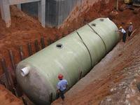 供应北京玻璃钢化粪池,百信玻璃钢耐腐蚀