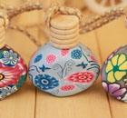 软陶挂件香水瓶-DH-3845