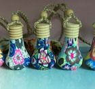 供应软陶挂件香水瓶-DH-38422