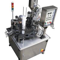 供应XBBH-95-1全自动转盘式单杯灌装封切机