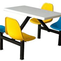 番禺食堂桌椅,学生快餐桌椅