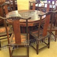黑酸枝餐桌价格,黑酸枝明式餐桌