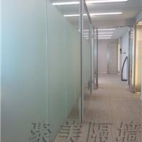 聚美厂家直销菏泽玻璃隔断墙   玻璃高阁间