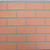 供应北京金属压花仿砖纹外墙保温板