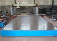 供应深度刮研铸铁工作台开槽刨削铸铁工作台