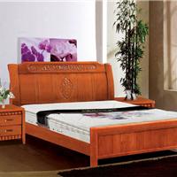 实木家具 两人床 大床 婚床招商代理