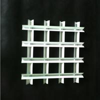 供应铝格栅 白色铝格栅 塔型格栅