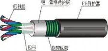 供应JHS防水电缆结构示意图