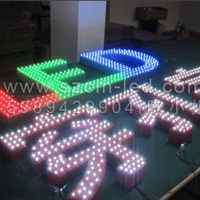 供应LED高亮度外露防水灯串 穿孔灯