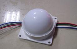 供应LED户外广告招牌防水单色点光源