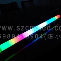 厂家供应LED户外广告招牌七彩铝座护栏管