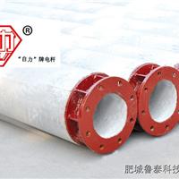 分段杆大弯矩底部法兰盘电杆合作生产高强杆大弯矩电杆无拉线电杆