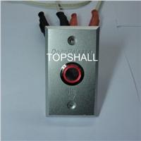 供应50X80mm防水门铃按钮开关面板
