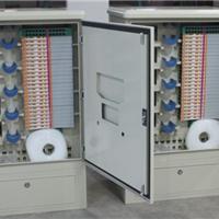 CCTV工程用不锈钢免跳接144芯光缆交接箱