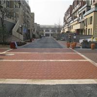 供应上海陶土广场砖,园林砖,烧结砖,透水砖