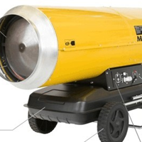 供应水泥混凝土养生用燃油热风机