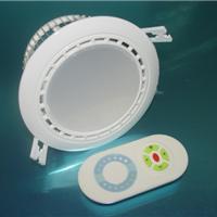 供应LED调色温筒灯T4-12瓦