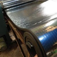 贴铝箔橡塑保温板 橡塑海绵铝箔板 复合铝箔橡塑保温板 可代工