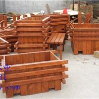 承接防腐木花箱,花槽、花架、秋千椅、围栏制作工程