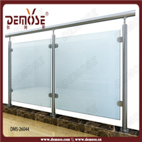 供应广东走廊阳台不锈钢玻璃栏杆护栏