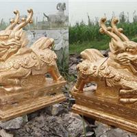 供应石雕麒麟,铸铜麒麟,石雕貔貅