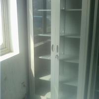 供应全玻璃不锈钢文件柜